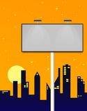 Billboard Illustration Royalty Free Stock Images
