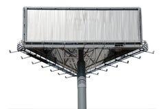 Billboard isolated on white background Royalty Free Stock Image