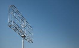 Billboard lub unipole Fotografia Stock
