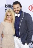 2015 Billboard Music Awards. Britney Spears and Charlie Ebersol at the 2015 Billboard Music Awards held at the MGM Garden Arena in Las Vegas, USA on May 17, 2015 Royalty Free Stock Photo