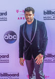 2016 Billboard Music Awards. LAS VEGAS - MAY 22 : NFL player Russell Wilson attends the 2016 Billboard Music Awards at T-Mobile Arena on May 22, 2016 in Las Stock Photos