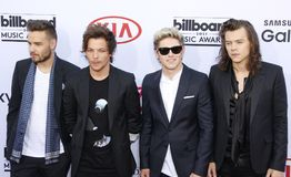 2015 Billboard Music Awards. Niall Horan, Liam Payne, Harry Styles and Louis Tomlinson of One Direction at the 2015 Billboard Music Awards held at the MGM Garden Royalty Free Stock Images