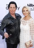 2015 Billboard Music Awards. Wayne Newton and Kathleen McCrone at the 2015 Billboard Music Awards held at the MGM Garden Arena in Las Vegas, USA on May 17, 2015 Royalty Free Stock Photos