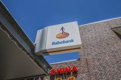 Billboard Od Rabobank zdjęcie royalty free