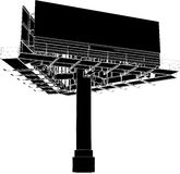 Billboard Outdoor Advertising Construction 02 Royalty Free Stock Image