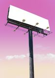 Billboard pink Stock Images