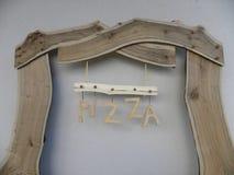 Billboard pizza Royalty Free Stock Photo