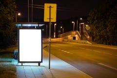 billboard reklamy Zdjęcia Stock