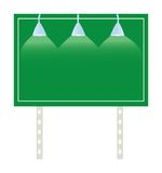 Billboard Road Sign. A blank billboard road sign waiting for your text.  Also available as a vector Stock Photos