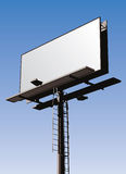 Billboard Sign. Roadside billboard sign with blank front for your message