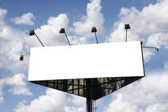 Billboard sign Stock Photos