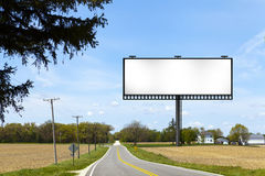 Billboard Sign Royalty Free Stock Photography