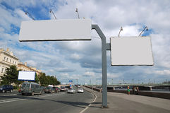 Billboard sign. Royalty Free Stock Photo