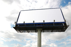 Billboard sign. Royalty Free Stock Photography