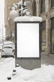 Billboard in the street Stock Image