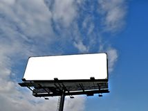 Billboard under blue sky Royalty Free Stock Photo