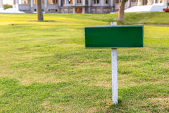 Billboard or warning sign, Please keep off the lawn. Royalty Free Stock Photo
