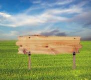 Billboard wooden Stock Images