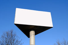 Billboard z pustym ekranem Fotografia Stock