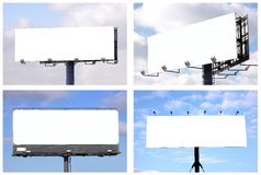 Free Billboards Royalty Free Stock Images - 12136379