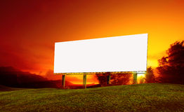 billboards Immagine Stock Libera da Diritti