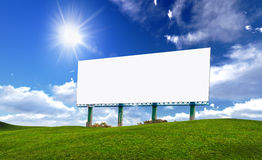 Billboards Royalty Free Stock Images