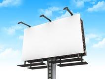 billboardu duży puste miejsce Zdjęcie Stock