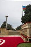 billboardu dzień odosobniony pamiątkowy biel Obrazy Royalty Free