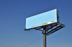 billboardu niebieskie niebo Zdjęcia Stock
