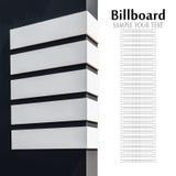Billboardu pointer z miejscem dla twój teksta obraz stock