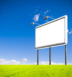 billboardu puste miejsce obraz royalty free