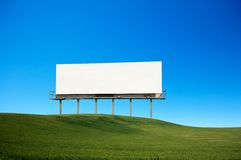billboardu puste miejsce Fotografia Stock