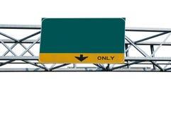 billboardu pustego miejsca ruch drogowy Zdjęcie Royalty Free