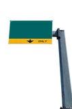 billboardu pustego miejsca zieleni ruch drogowy Obraz Stock