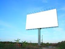 billboardu reklamowy puste miejsce Zdjęcie Royalty Free