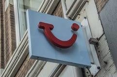 Billboardu TUI agencja podróży obraz royalty free