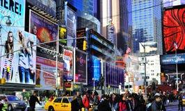 billboardy obciosują czas Zdjęcia Stock