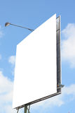 Billboardy reklamować twój zwierzęcia domowego z niebieskiego nieba tłem Zdjęcia Royalty Free
