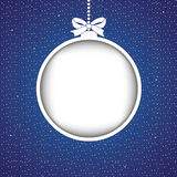 Bille abstraite de Noël Photographie stock libre de droits
