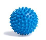 Bille bleue de massage Photo libre de droits