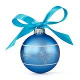 Bille bleue de Noël photo libre de droits