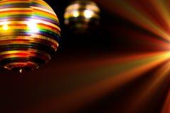 Bille colorée de disco Image stock