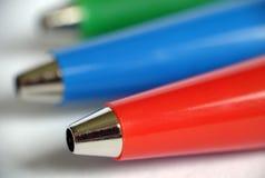 Bille-crayon lecteur Images libres de droits
