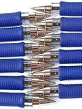 Bille-crayons lecteurs Images libres de droits