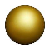 Bille d'or Images libres de droits