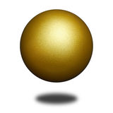 Bille d'or Photo stock