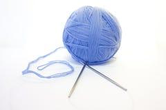 Bille d'amorçage et de rais de tricotage Images stock