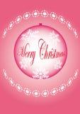 Bille d'arbre de Noël Photographie stock