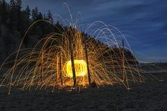 Bille d'incendie Photographie stock libre de droits