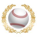 Bille de base-ball Photos libres de droits